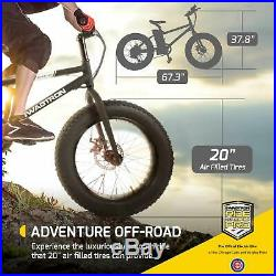 Swagtron EB6 E-Bike 350W Motor Power Assist 7Speed Removable Lithium Ion Battery