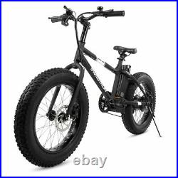 Swagtron EB6 Ebike Fat Tire Electric Bike 350W High-speed with Power Assist Trail