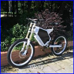 Troya 5000with72v Electric Bicycle Scooter Ebike Mountain Bike 80km/h FASTEST