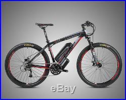 Twitter 36v & 48v Electric Mountain Bikes Lg Lithium Battery Fast E-bikes