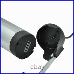 US 24V 10Ah Bottle Lithium Li-ion Battery Cell for 250W Electric Bicycle E-bike