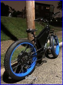 USA Built RAPTOR, Electric Fat Bike, 84v 20ah, 6000watts. 3 Power Settings Ebike