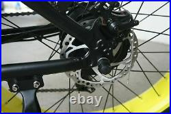 VTUVIA 26Fat Tire Electric Bicycle Mountain Bike 48V 13AH 750W Cycling E-Bike