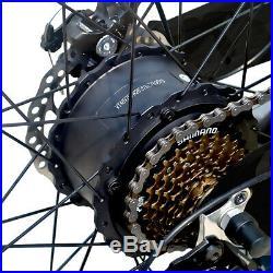 Vtuvia 26 Electric EBike 48V 750W 13AH 7Speeds Fish Beach City Mountain Bicycle