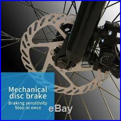 White 26 CLIENSY Folding Electric Bike City Mountain Cycling EBike 36V 350W US