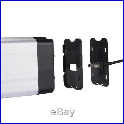 X-GO 24V 10Ah 250W Fish Li-ion Lithium Battery for Electric Bicycles E-Bike US