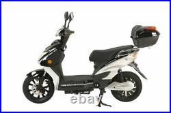X-Treme Cabo Cruiser Elite Max 60 Volt Electric e Bike Moped Black