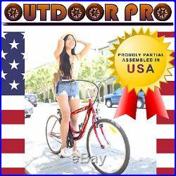 Yukon Trail Electric Bicycle Power Bike 24V 250W Red E-Bike