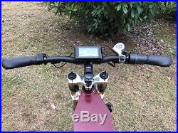 Yunshine Leopard 8000with72v Electric Moped Scooter Ebike Mountain Bike FAST NEW